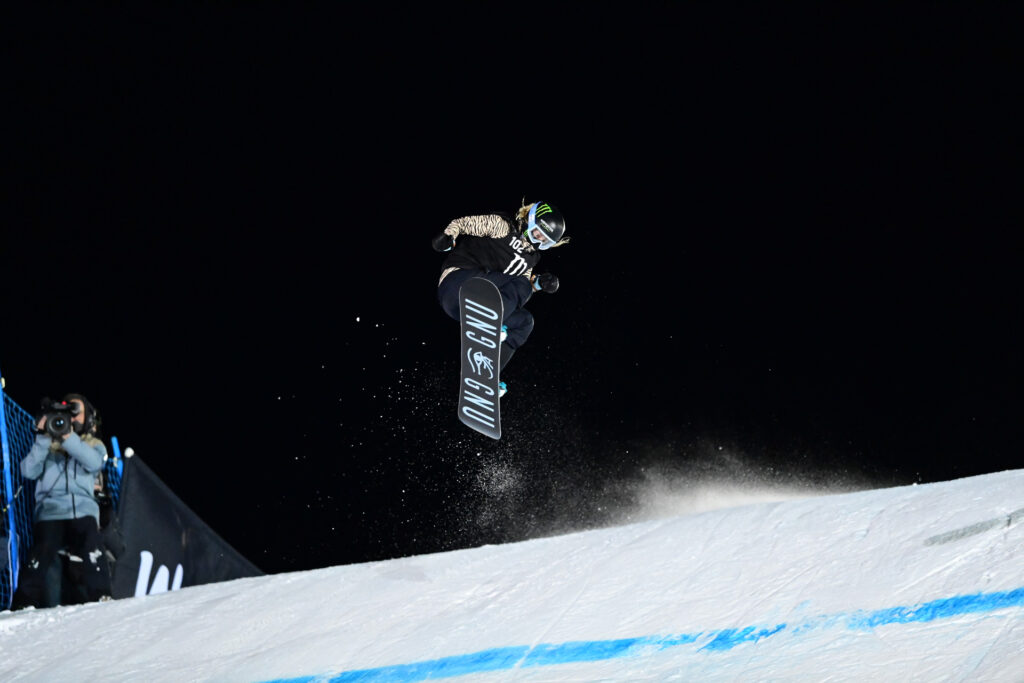X Games Knuckle Huck 首位女性選手 Jamie Anderson